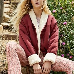 NEW FREE PEOPLE / MIX IT UP REVERSIBLE JACKET